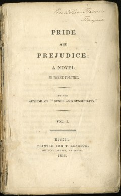 First ed- title page
