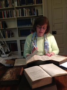 Julienne at Chawton House Library copy