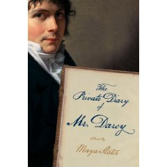 book cover private diary darcy