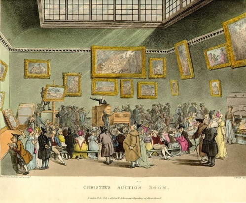 Christies auction room image