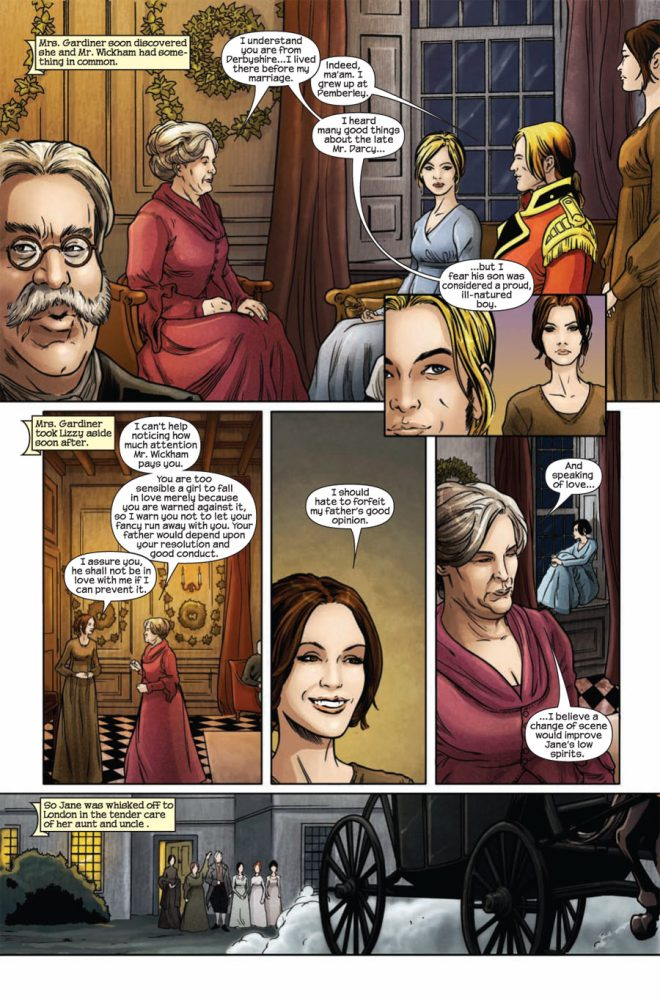 Marvel comic P&P #3 page 6