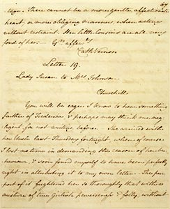 morgan exhibit letter