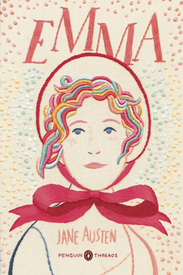 Penguin Classics Book Cover Art ~ Penguin s newest 'emma the thread series jane austen