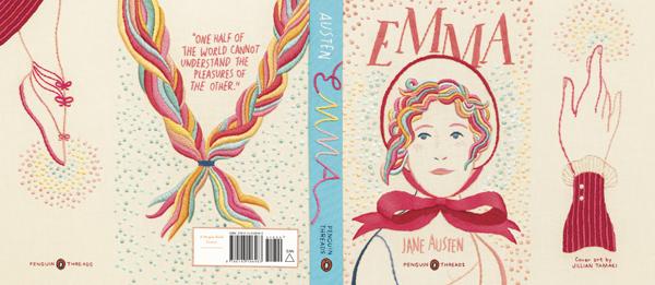 Original Penguin Book Covers : Penguin s newest 'emma the thread series jane austen