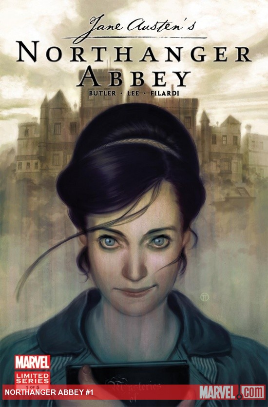 Northanger Abbey Marvel Comic 5 Is Out Jane Austen In Vermont