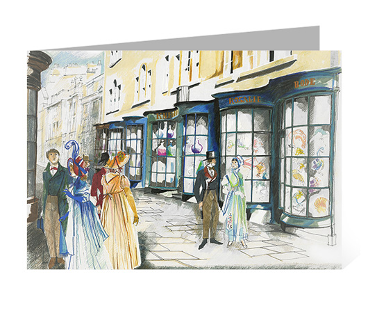 Jane Austen in Bath - Old Bond St