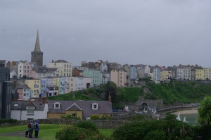 Tenby in the rain