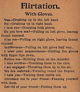 flirtation rules 1800s - retronaut