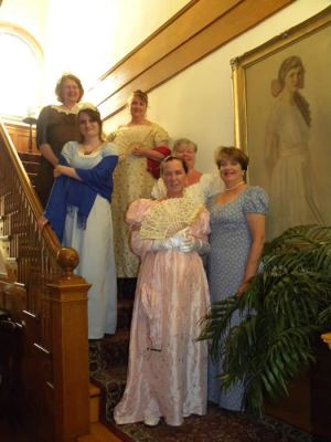 Jane Austen weekend at Governor's House