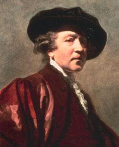 reynolds - self-portrait detail - britannica