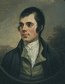 Robert Burns - from wikipedia