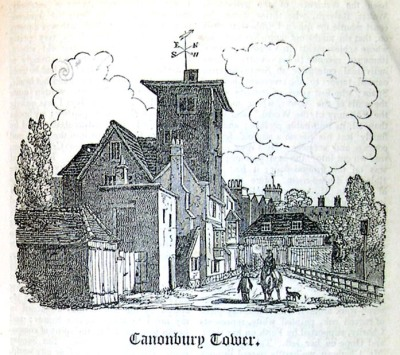 Canonbury-tower - Hone