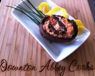 DA Cooks - salmon mousse pinwheels