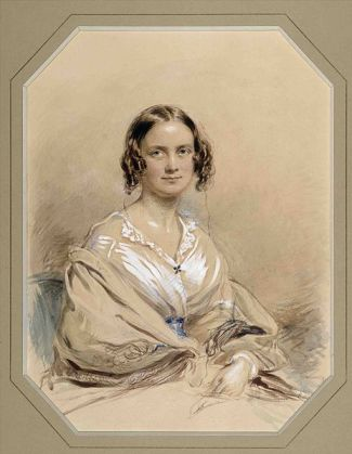 Emma Darwin, 1840 - by George Richmond