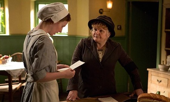 Mrs Patmore and Ethel - PBS
