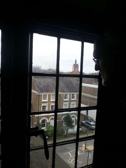 Ron at window