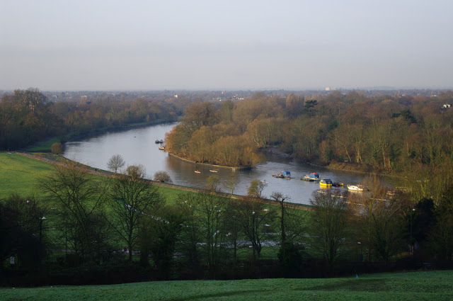 The Thames from Richmond Hill