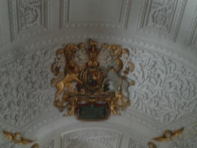 St Clement Danes ceiling