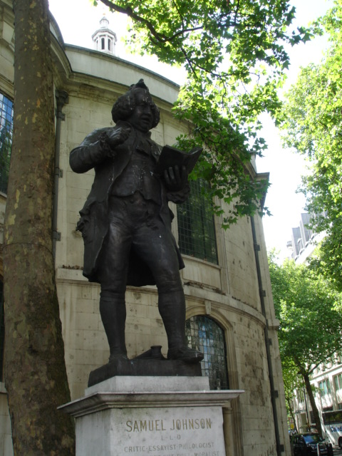 Samuel Johnson - St Clement Danes