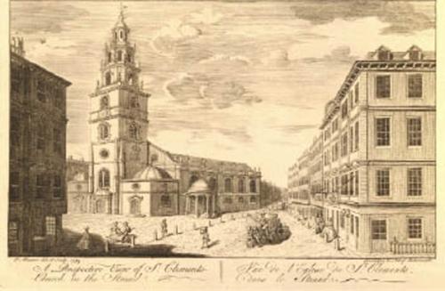 St Clement Danes - 1753