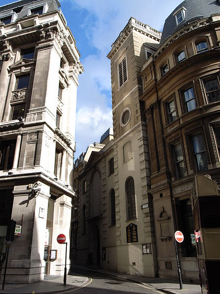 St Clement Eastcheap today - wikipedia