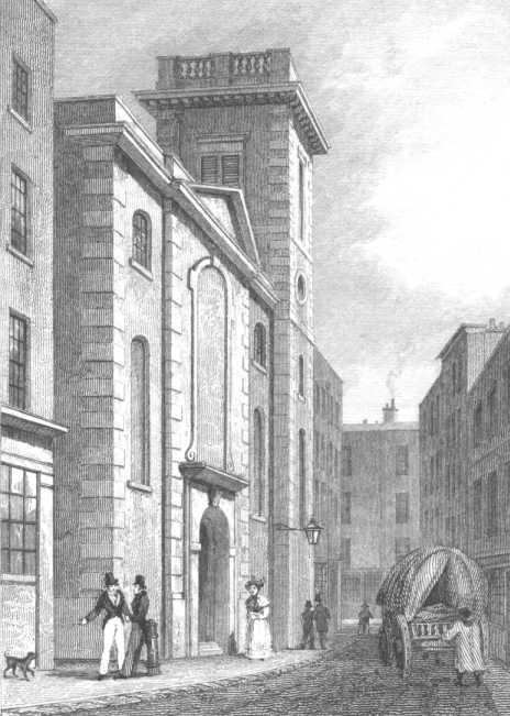 St Clement Eastcheap - London Views