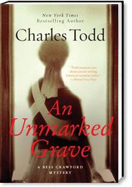 book cover unmarkedgrave