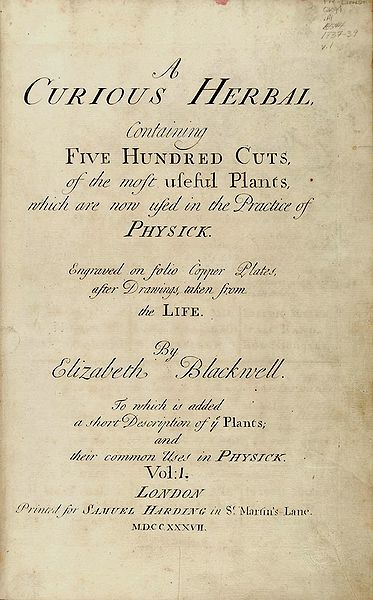 titlepage blackwell herbal