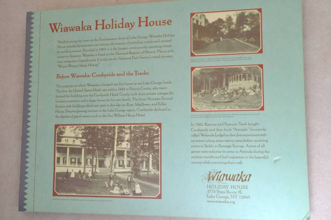 Wiawaka House c2013 Mary Huber
