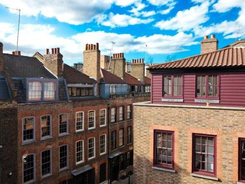 Spitalfields rooftops cRon Dunning