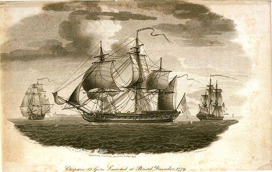 HMS_Cleopatra_(1779)-wp