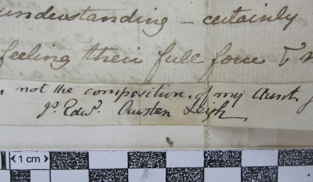 Condition Assessment of the Jane Austen Manuscripts