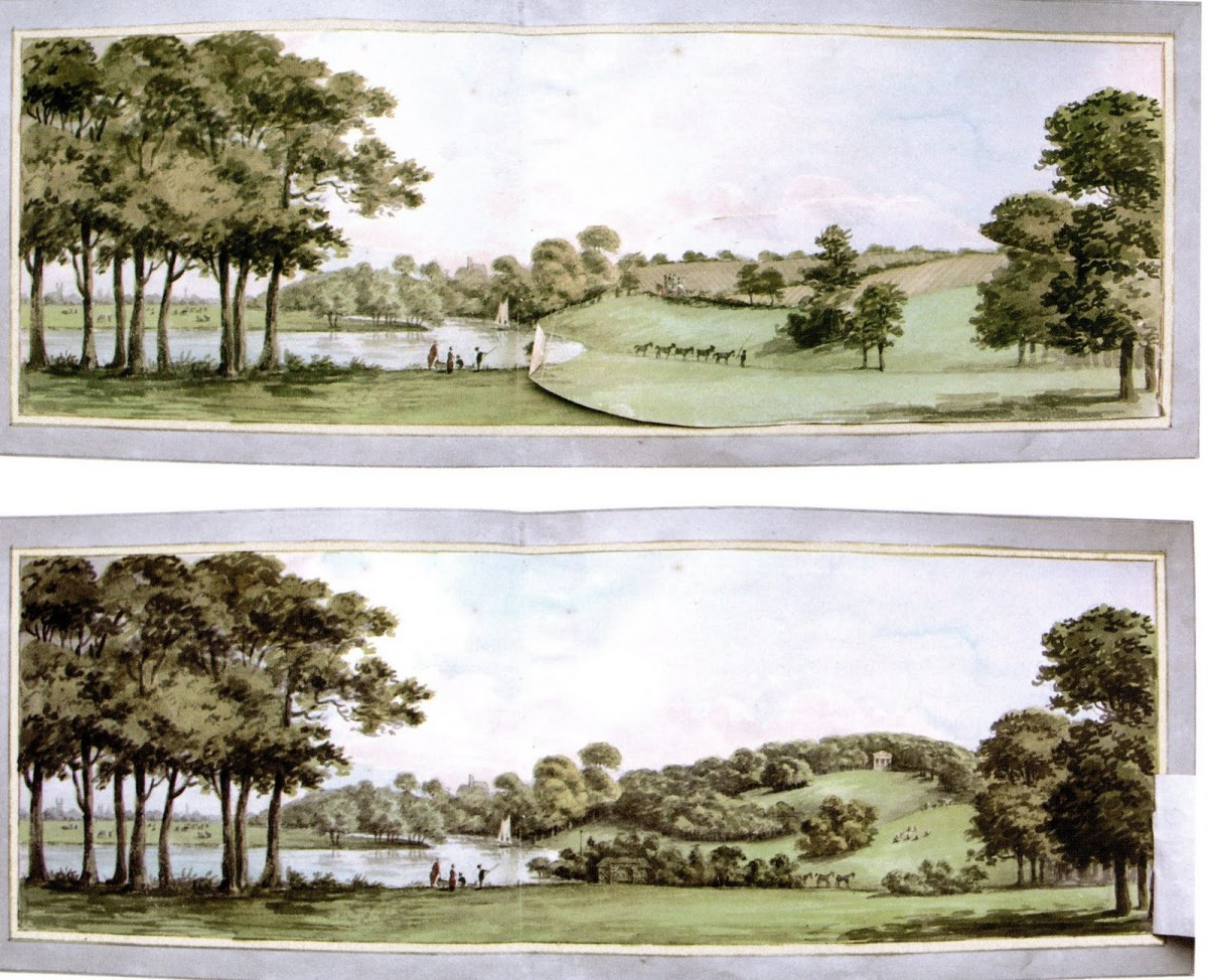 Image result for Repton's Before and After sketches (Wikipedia).