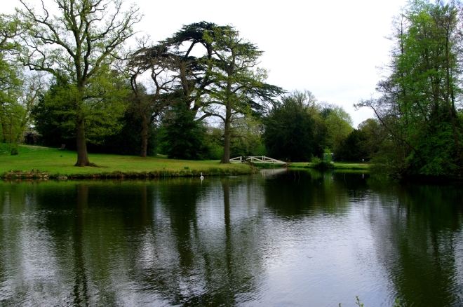 Part of the lake at Painshill Park, cTony Grant