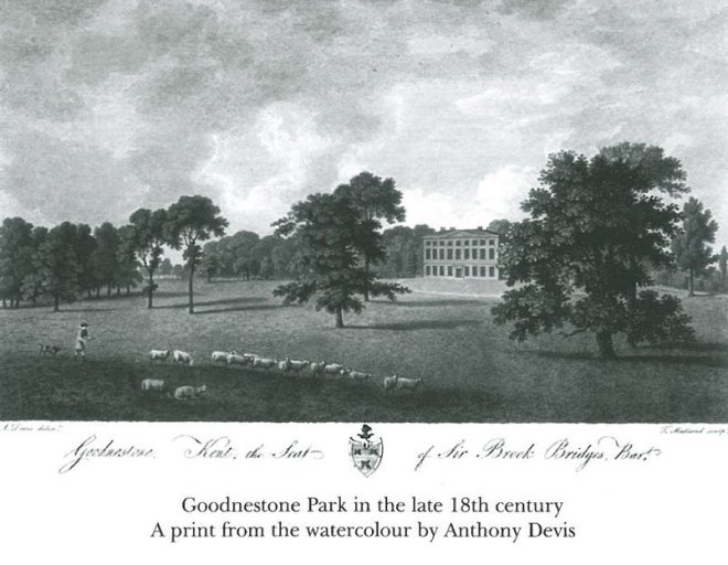 Goodnestone in late 18th century