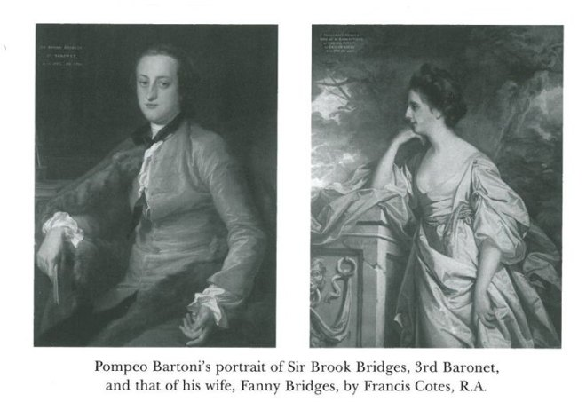 Sir Brook Bridges and Lady Bridges