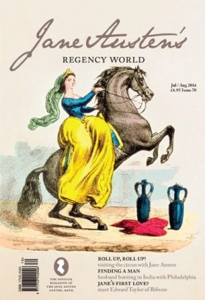 Jane Austens Regency World Magazine Jul Aug 2014 Jane Austen in Vermont