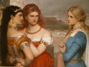 Three Daughters of King Lear, Gustav Pope - wikipedia