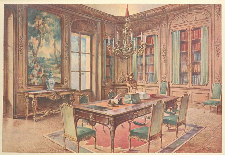 Carlton House library