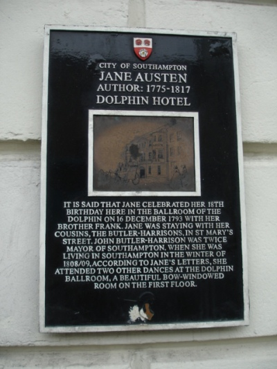 Dolphin Hotel Sign - JA danced here