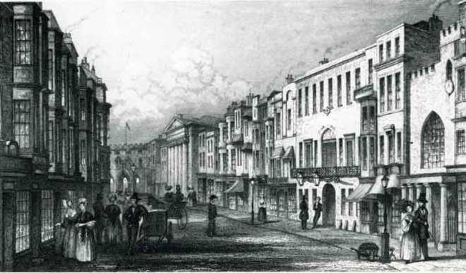 High Street, Southampton 1805