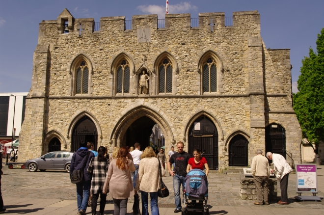 Jane's school was close to The Bargate