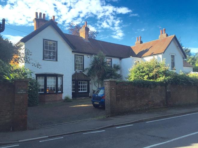 Burney Cottage in Great Bookham - c2016 Tony Grant