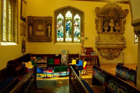 Interior St Nicholas - c2016 Tony Grant