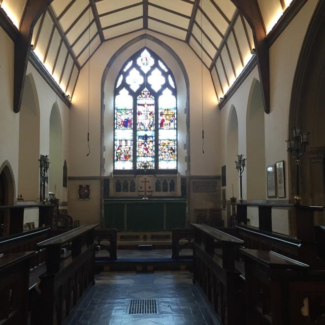 Interior of St Nicholas, Great Bookham - c2016 Tony Grant