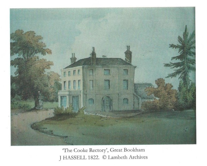 Rectory painting