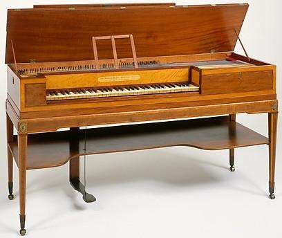 John Broadwood & Sons square piano (1797), NY-MMA - 1982.76