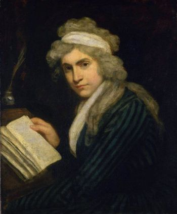 Mary Wollstonecraft, by John Opie 1790-91 (Wikipedia)